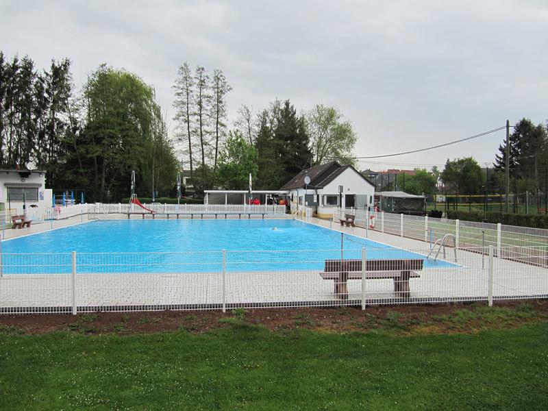 Eröffnung des Rüdesheimer Schwimmbades