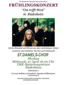 Frühlingskonzert Moskauer Daniels-Chor